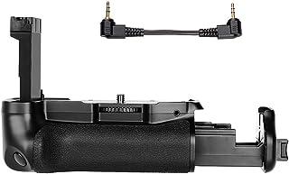 Andoer BG-1X Cámara digital SLR Asa vertical de batería para Canon EOS 800D / Rebel T7i / 77D Soporte de manija para usar con una o dos baterías LP-E 17