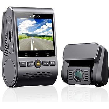 VIOFO A129 Duo ドライブレコーダー ドラレコ 前後カメラ 前後2カメラ デュアルレンズ デュアルカメラ SONY製センサー 前後スタービス 夜間撮影に強い F1.6 明るいレンズ フルHD 1920×1080 Wi-Fi搭載 GPS WDR補正 Gセンサー 2インチ画面 広角140° 最大256GB 駐車監視 地デジノイズ対策済み(A129DUO-地デジ対応)