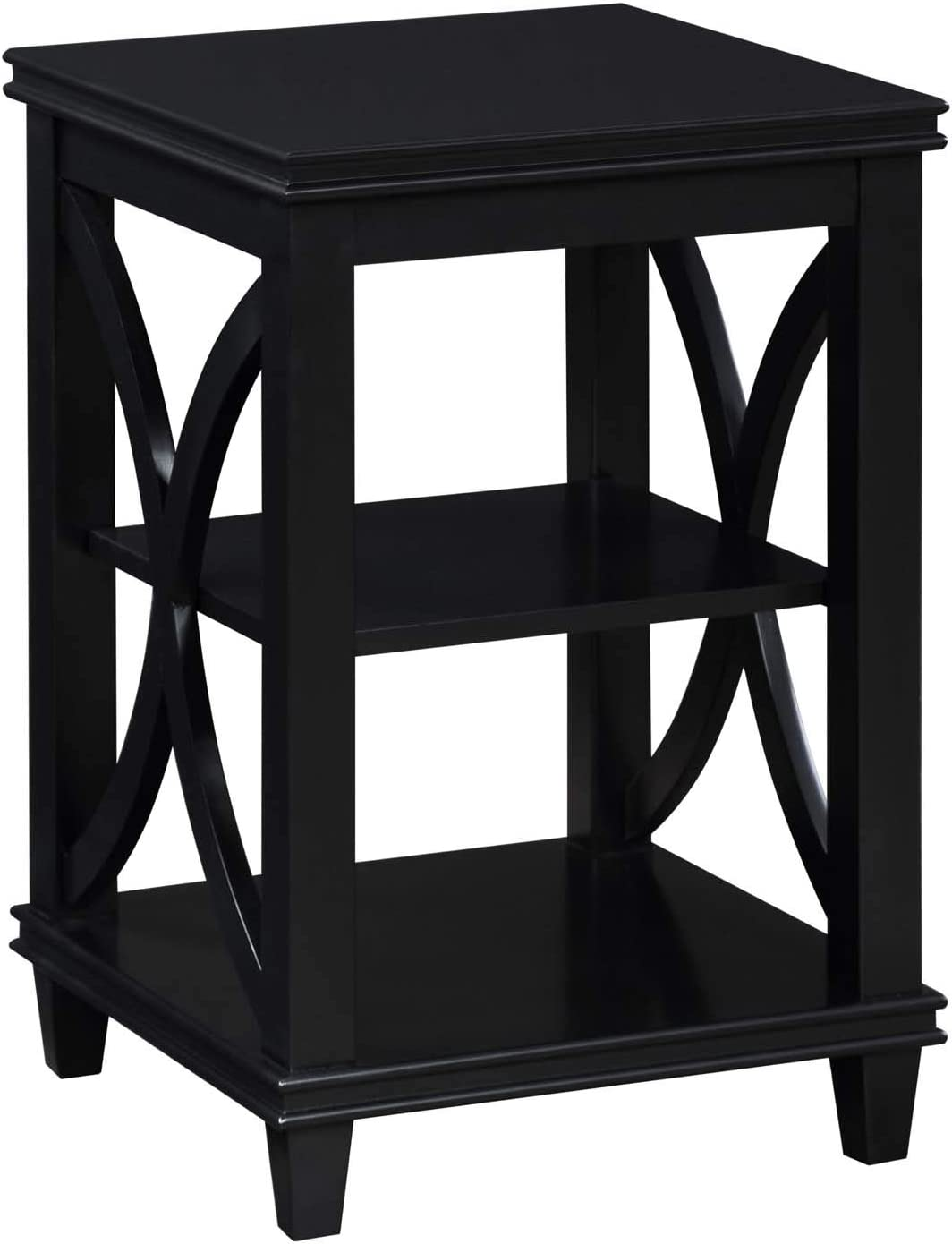 Convenience Concepts Florence Omaha Mall End Max 54% OFF Table Black