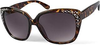 custodia per occhiali con chiusura a scatto unisex 09020115 styleBREAKER Custodia per occhiali da sole in ottica serpente colorato con panno per la pulizia
