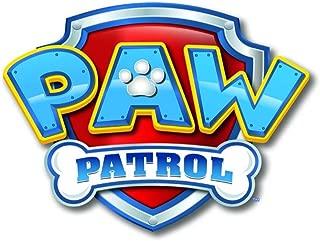 Whimsical Practicality Paw Patrol Logo Sheet Edible Photo Birthday Cake Topper Frosting Sheet Party, Yellow, 1/4 Sheet