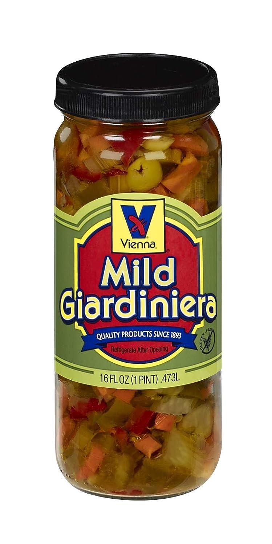 Vienna 100% quality warranty! Max 49% OFF Mild 16oz Giardiniera