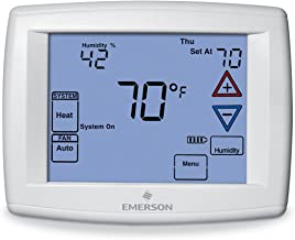 Emerson 1F95-1291 7-Day Touchscreen Thermostat with Humidity Control