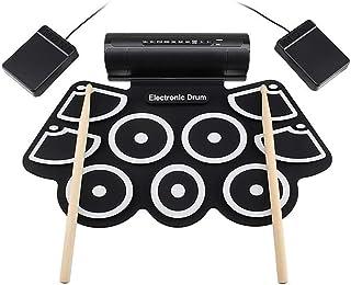 Instrumento de percusión MD760 grueso tambor de mano de silicona tambor USB tambor electrónico