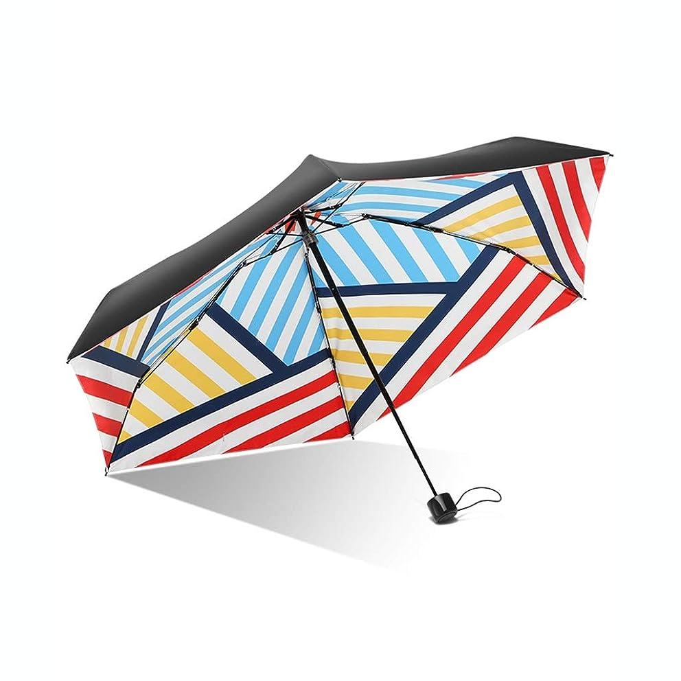 百万イブニング生き残りポケット傘ポータブル傘折りたたみ傘太陽の傘耐候性のある傘旅行傘UV保護 ZHYGDQ (Color : E)