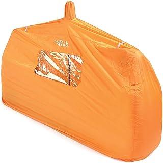 Rab(ラブ) タープ ツェルト シェルター ビバーク 緊急用 [1~2人用] 超軽量コンパクト 320g グループシェルター 2 MR-49-OR-2 オレンジ