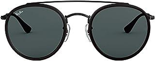 Luxury Fashion | Ray Ban Mens RB3647N002R5 Black Sunglasses | Fall Winter 19