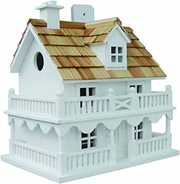 Home Bazaar Hand-made Novelty Cottage Bird House - Bird Friendly Home Decor