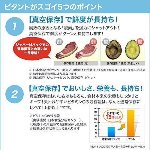 ショップジャパン『フードシーラーピタント』