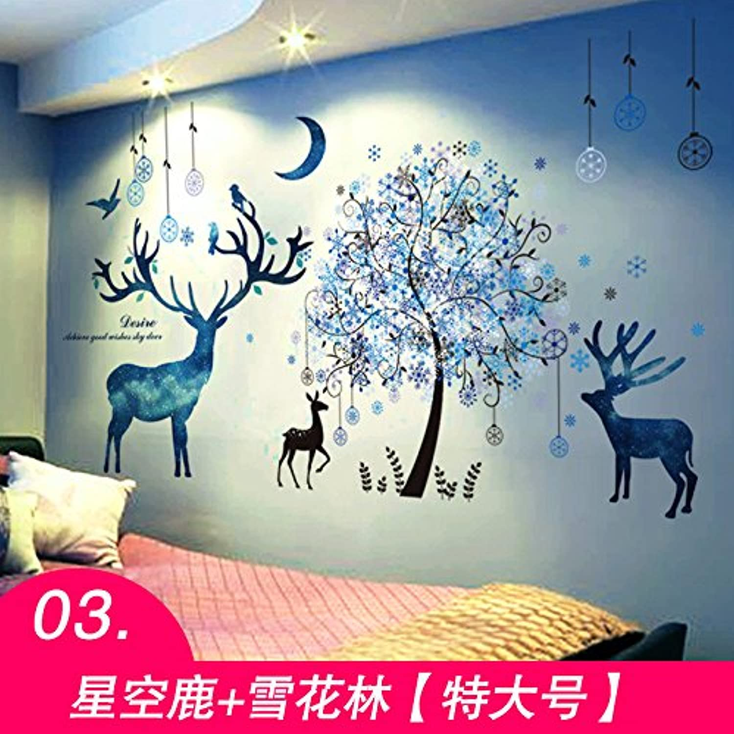 Znzbzt Welcoming Creative Wall Posters Poster Room Wall Decoration Wall Decals, Germany + Snowflake Lin