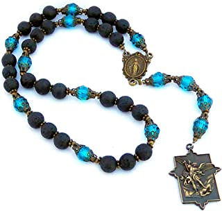 Caritas Saint Michael Chaplet with Instructions, for Protection and Blessing