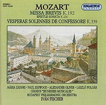 Mozart: Missa brevis - Vesperae solennes de Confessore - Epistle Sonata