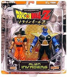 Dragon Ball Z Alien Invaders Goku vs. Burter Action Figure 2-Pack [Orange Package] (Jakks Pacific)