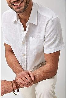 Camisa Linho MC - Branco