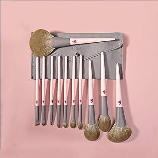Brushes مجموعة فرشاة ماكياج تحديث مجموعة كاملة من 11 أدوات ماكياج لإرسال حقيبة التخزين Corrector