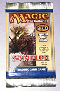 Magic the Gathering 2001 Sampler Pack released with 7th Edition Wizards of the Coast