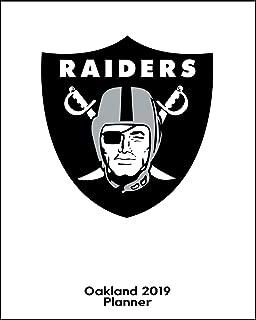 Oakland Raiders 2019 Planner