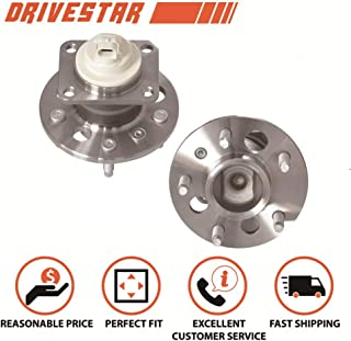 DRIVESTAR 512150X2 (Pair) Premium Rear Wheel Hub & Bearing Assembly for Buick Chevy w/ABS