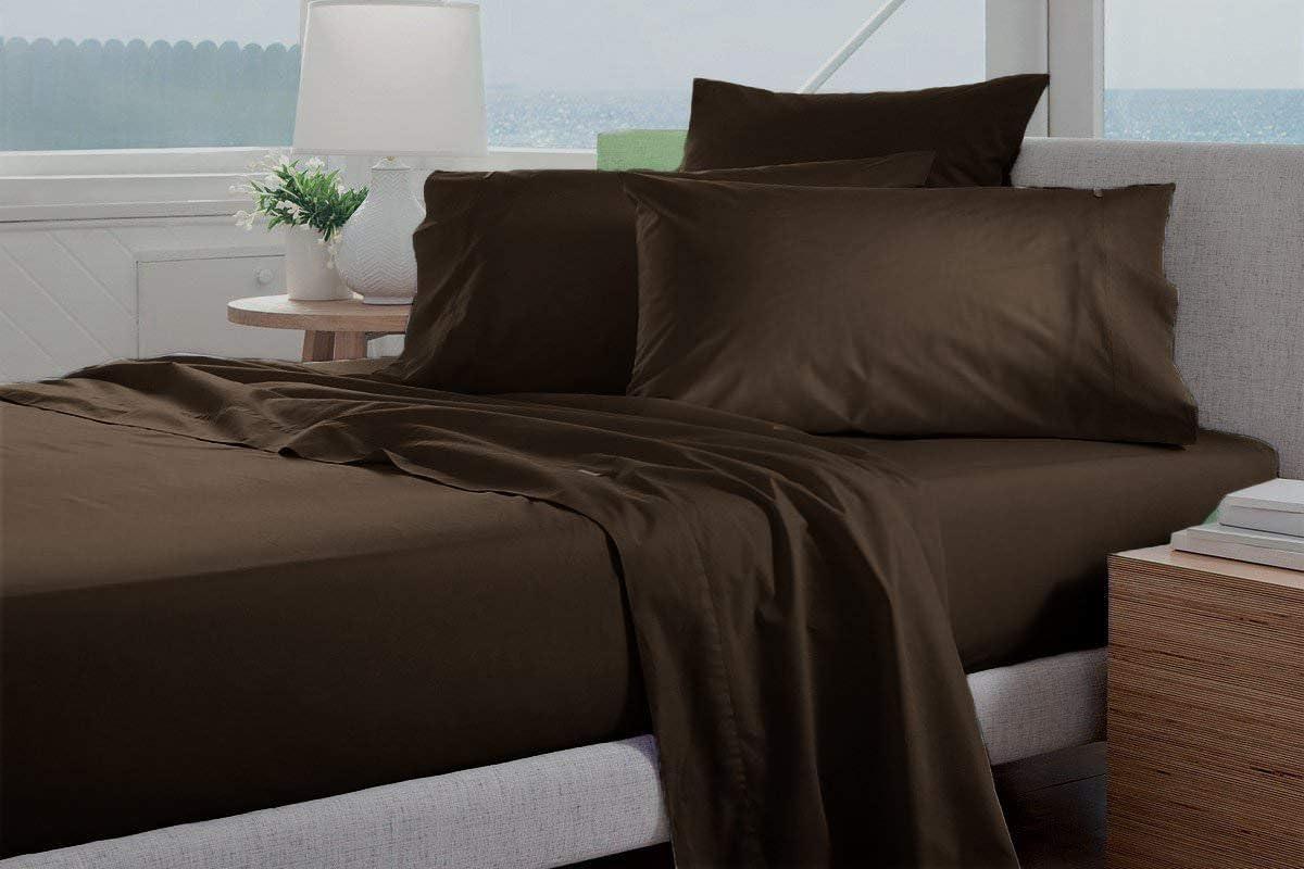 Original It is very Max 42% OFF popular 1800-TC Coziest 100% Heavy 4-PCs Fits Sheet Set Cotton