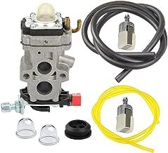 Panari Carburetor + Fuel Line Filter for Husqvarna 350BT 150BT Backpack Leaf Blower