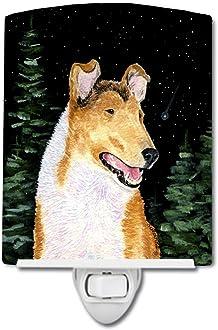 Carolines Treasures Leonberger Fall Leaves Portrait Night Light 6 x 4 Multicolor