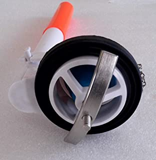 2.5 One Piece Toilet Flush Valve with adjustable overflow extension tube