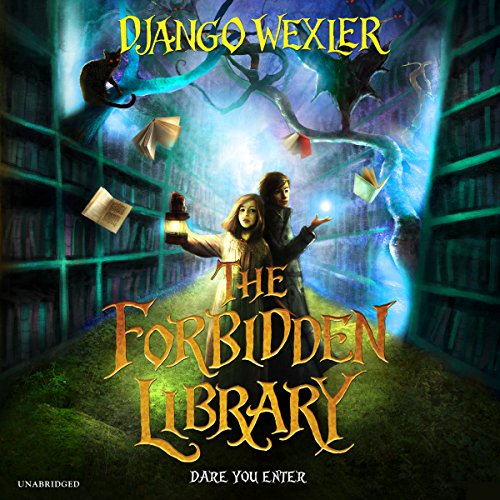 Couverture de The Forbidden Library