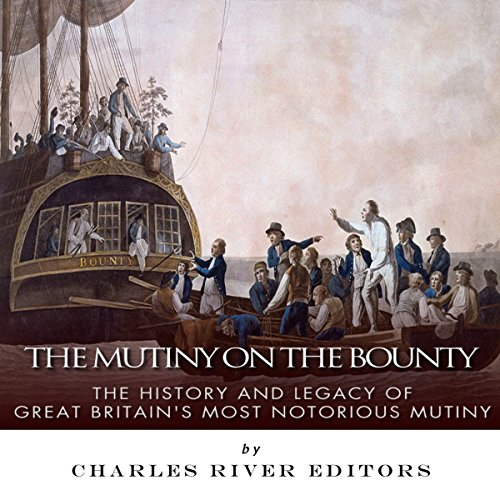 The Mutiny on the Bounty audiobook cover art