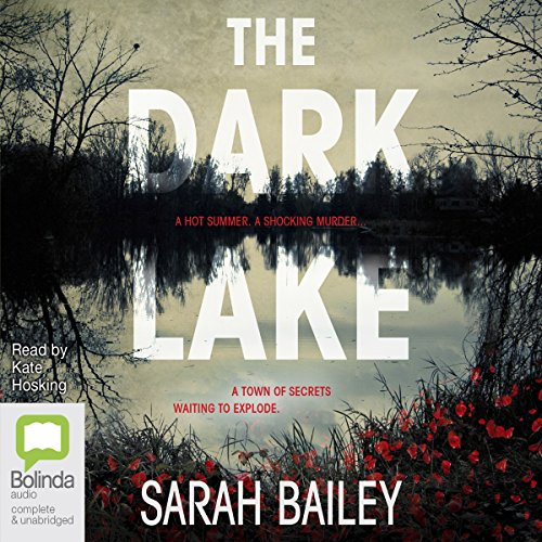 The Dark Lake audiobook cover art