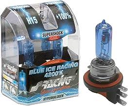 Simoni Racing halogeenlampen, 2 stuks H15 Attacco H15 Lumière banc glacé