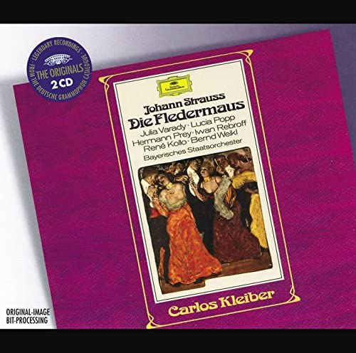 Bavarian State Orchestra, Carlos Kleiber & Johann Strauss II