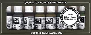 Vallejo Panzer Colors Paint Set 8, 17ml