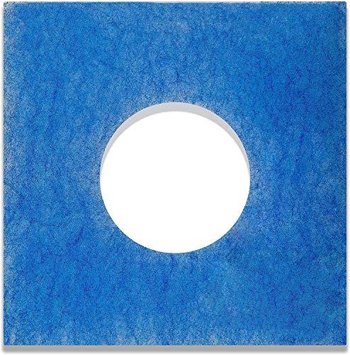 6 Filter für Limodor Limot LF/ELF Badlüfter - 226 x 226 mm, Ø 95 mm, Filterklasse G4, 18mm - Alle F/C Limodor-Typ F-LF/5 00010 LIG Lüftungsanlage - Luftfilter und Staubfilter für Bad Lüftung
