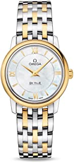 De Ville Prestige White Mother of Pearl Dial Ladies Watch 424.20.27.60.05.001