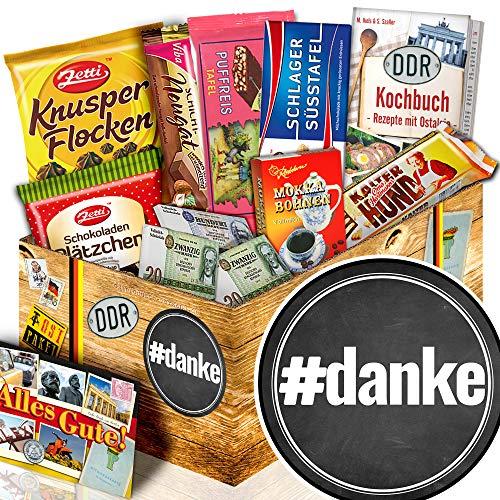 danke - Freundin Danke Geschenke - DDR Schokoladen Geschenk