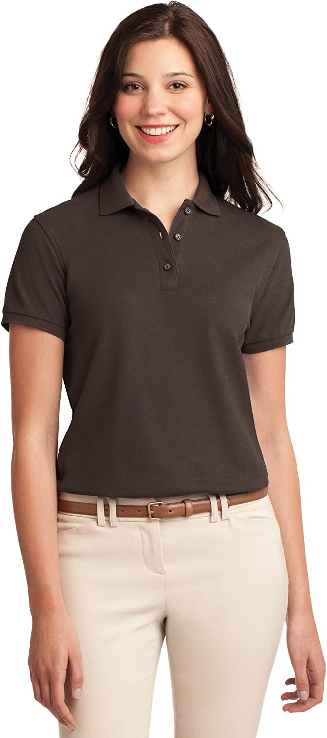 Port Authority; Ladies Silk Touch153Polo. L500