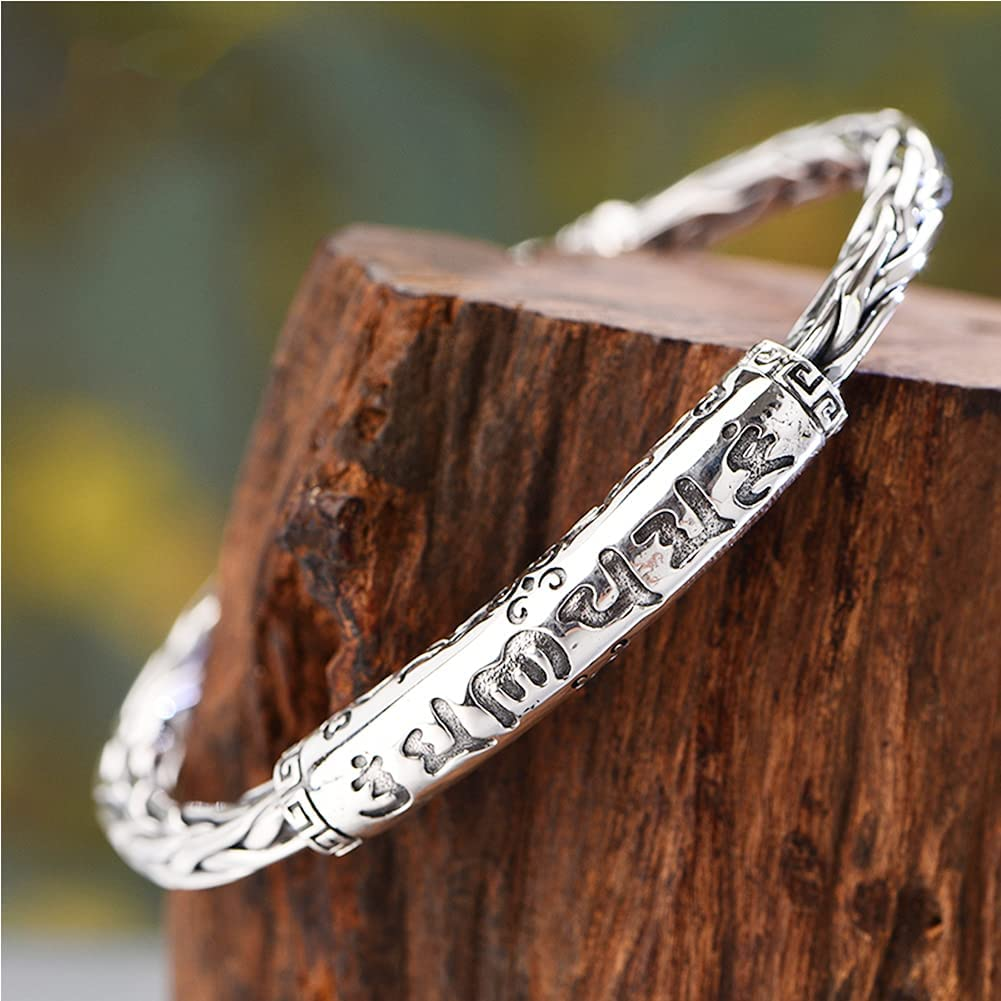 Max 80% OFF Feinny 999 Sterling Silver Max 90% OFF Twist Antique Bangle Opening Adjusta