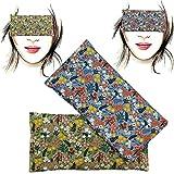Almohada para los ojos 'Pack-2 champs' | Semillas de Lavanda y arroz | Yoga, Meditación,...