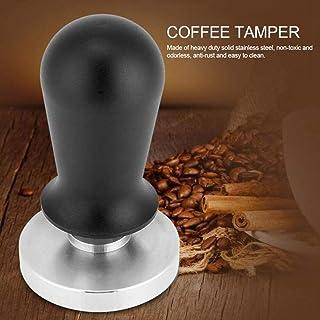 WJFQ Presse Mouture Café Plat en Acier Inoxydable café Tamper Base Bean Espresso Accessoires café Outil de pressage for la...