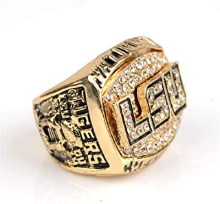 TWCUY 2003 Louisiana State University Tigers Basketball Championship Ring for Fans Men's Gift Size 11