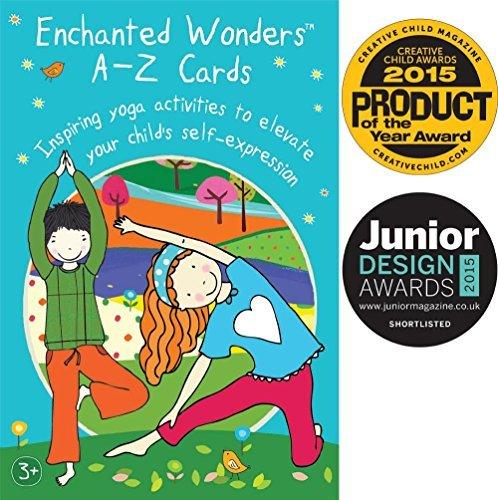 Enchanted Wonders A-Z Cards: Inspiring Yoga Activities to Elevate Your Child's Self-Expression Connecticut