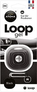 Aroma Loop Gel Vent Clip Car Air Freshener - 1/EA (Black)