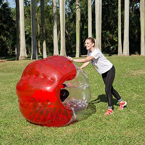Inflatable Bumper Bubble Soccer Ball for Adults, Dia 5 FT Giant Human Hamster Ball W/Carry Bag