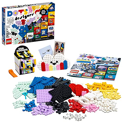 LEGO DOTS Creative Designer Box 41938 DIY Craft Decoration Kit; A Wonderful Inspirational Set for Creative Kids; New 2021 (779 Pieces)