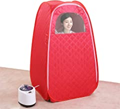 ALY Portable Folding Steam Sauna Tent, Function Steamer Chair Included, for Weight Loss, Detox, Relaxation at Home, Lightw...