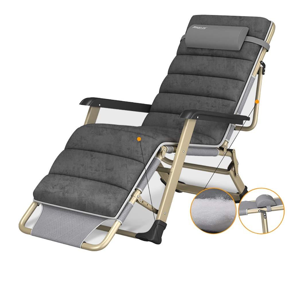 Tumbona Silla de jardín reclinable Zero Gravity Plegable reclinable Ideal para la Playa Camping Jardín Terraza Patio: Amazon.es: Jardín