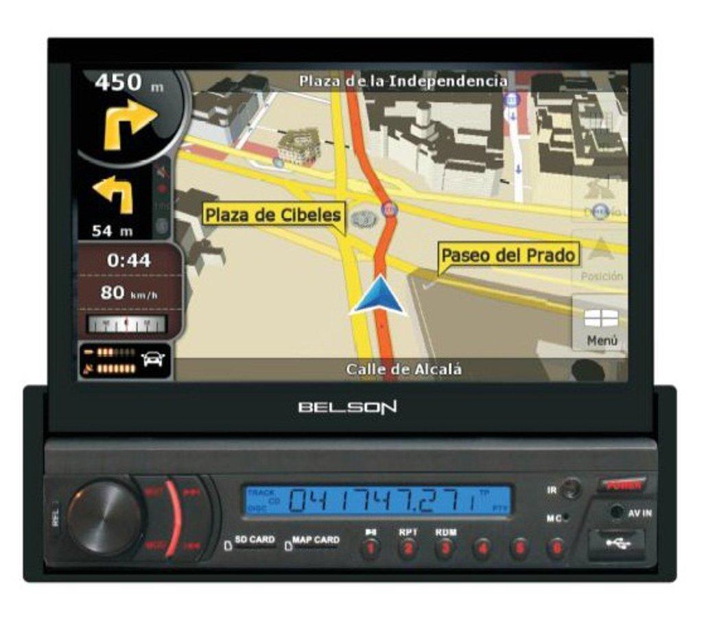 Belson STL-5708 - Navegador GPS: Amazon.es: Electrónica