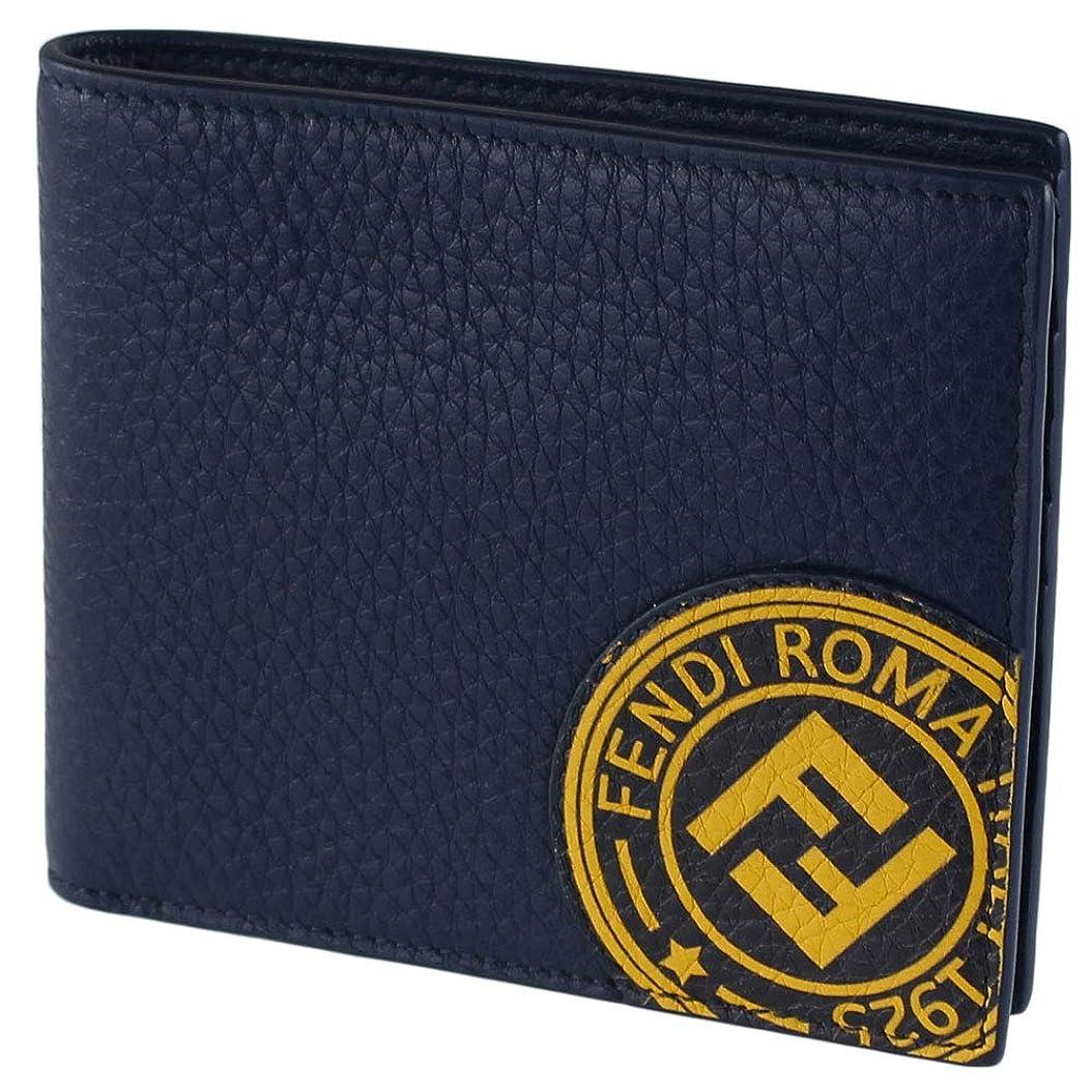 疑い者進む秘書フェンディ FENDI メンズ 折りたたみ財布 7M0169 A4NQ WALLET CUOIO ROMA/BOLLO
