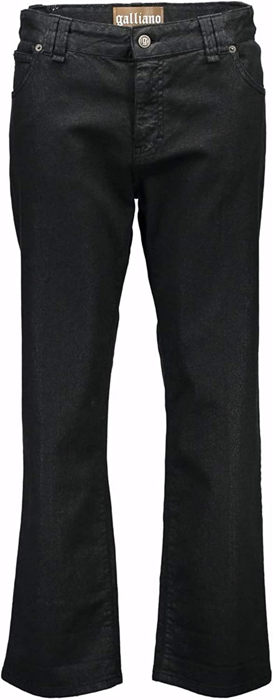 John Galliano 34 WR6030 68614 1WL1 Capri Trousers Women Black 900 25