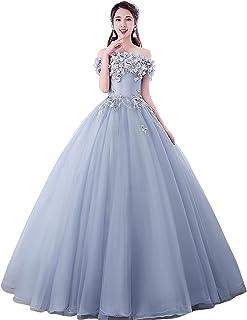 発表会演奏会 結婚式 パーティードレス 二次会衣装 プリンセス sweet ビーズ パール ロング 袖あり 優雅 ブライズメイドウェディングドレス